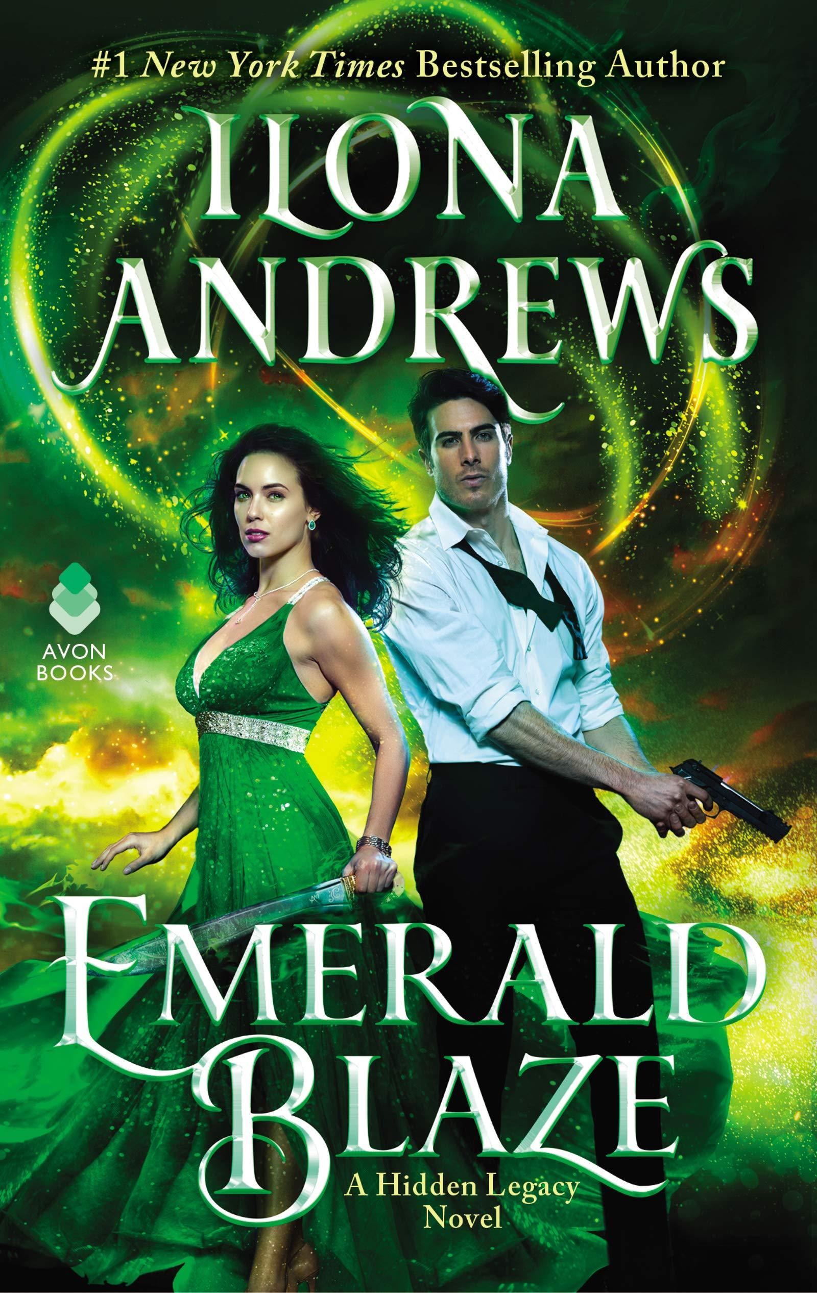 Emerald Blaze  A Hidden Legacy Novel  English Edition