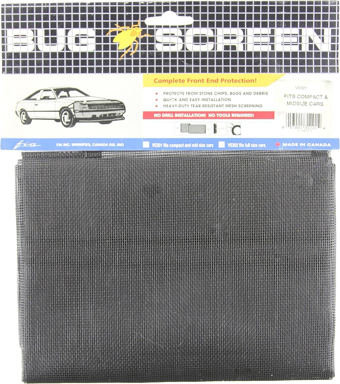 FIA DS405 Universal Hood Deflector Bug Screen