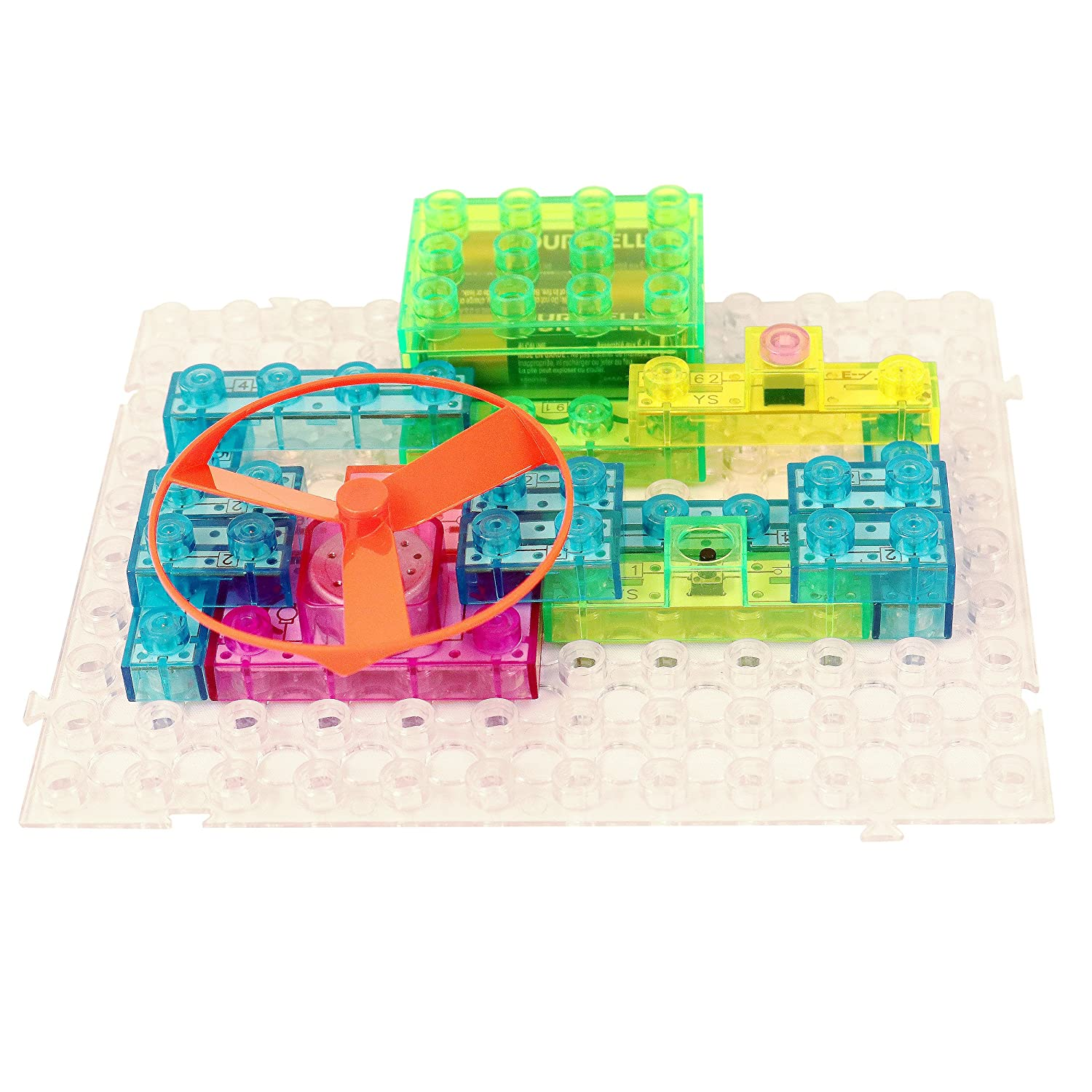 Circuit Kit With Lighted Bricks 115 Different Projects Simple Solar Circuits Evil Mad Scientist Laboratories In 1 Best Stem Educational Gift For Boys And Girls Ages 6 14 Science Experiment W