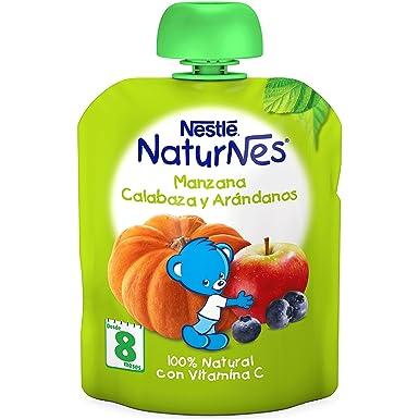 Nestlé Naturnes - Bolsita de Manzana, Calabaza y Arándanos - A partir de 8 meses