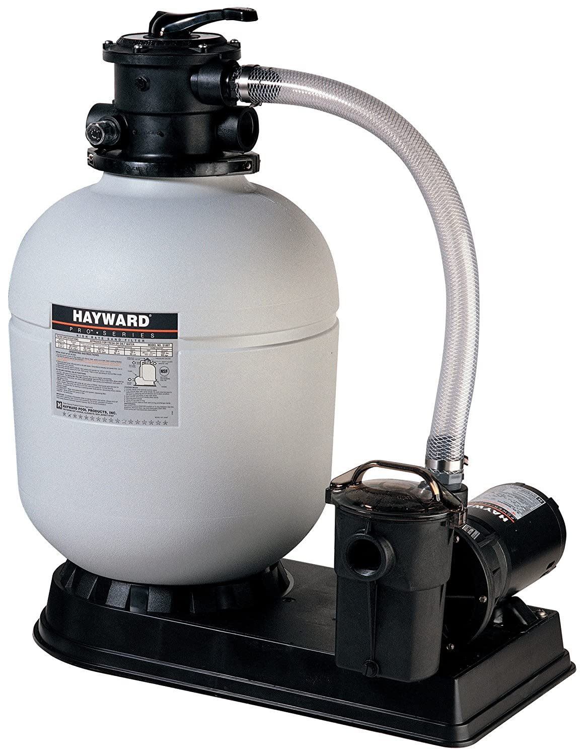 Amazon.com : Hayward S180T92S ProSeries 18-Inch 1 HP Sand Filter System :  Swimming Pool Sand Filters : Garden & Outdoor