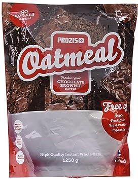 Prozis Oatmeal, Chocolate Brownie - 1250 gr: Amazon.es: Salud y cuidado personal