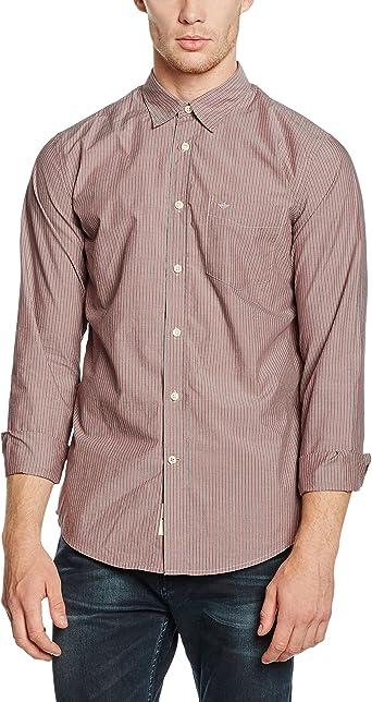 dockers Laundered Poplin Shirt-LS Camisa para Hombre: Amazon.es: Ropa y accesorios