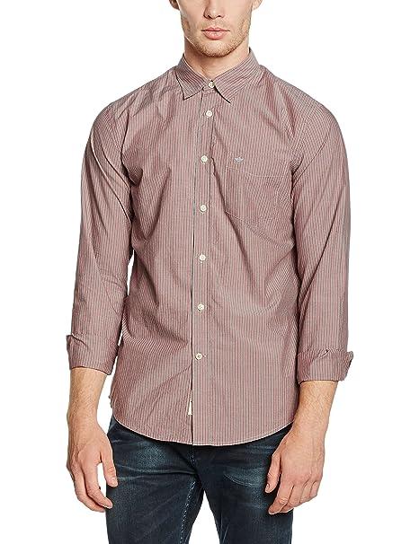 dockers Laundered Poplin Shirt-LS Camisa para Hombre: Amazon.es ...