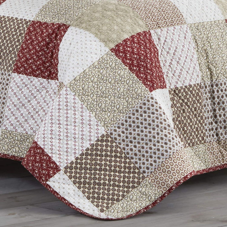Stone Cottage Rivington Quilt Set Full//Queen Beige