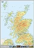 Scotland Map - A0 Size 84.1 x 118.9 cm