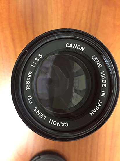 Review Canon FD 135mm f/3.5