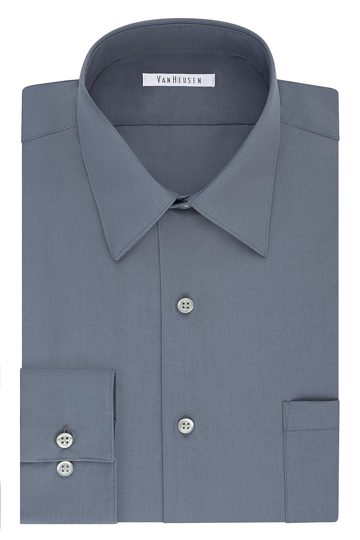 Van Heusen Mens Big Big and Tall Dress Shirt Big Fit Poplin 20F9562