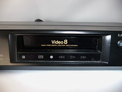sony 8mm Video8 NTSC stereo VCR EV-C20