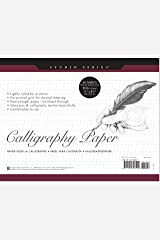 Studio Series Calligraphy Paper Pad: 50 Sheets Perfect Paperback