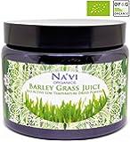 Organic Raw Barley Grass JUICE Powder - Dark Glass Jar (150 grams)