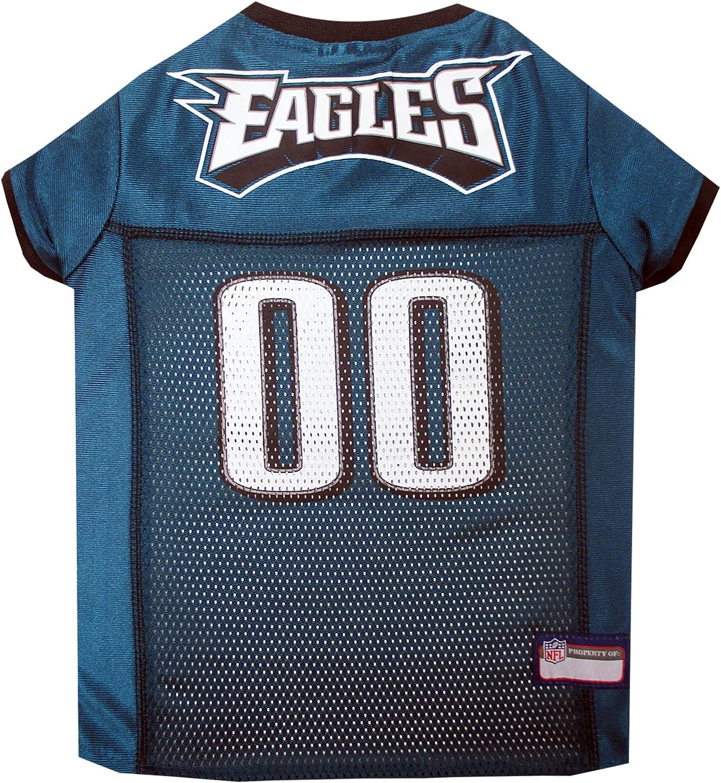 Pets First Philadelphia Eagles NFL Mesh Pet Jersey