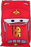 Pixar Cars Lightning McQueen Shape 16 inch Large School Backpack
