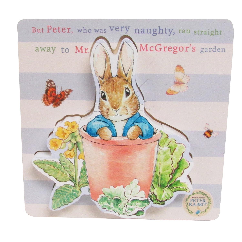 """Beatrix Potter Peter Rabbit 3 Piece Wooden Puzzle, 6"""""""