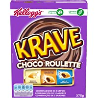 Kellogg's Krave Choco Roulette Cereales - 375 g