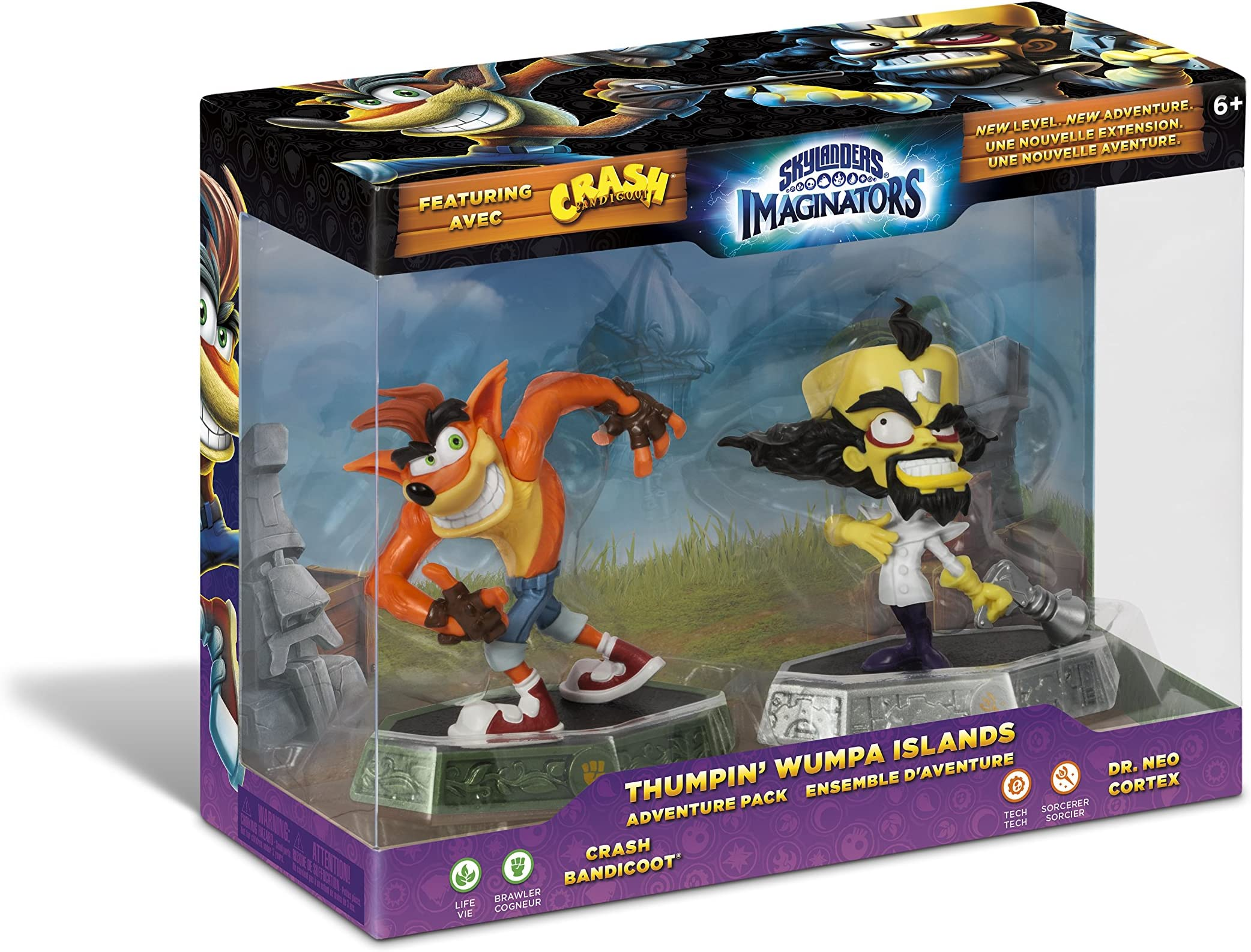 Skylanders Imaginators Thumpin' Whumpa Islands Adventure Pack by Activision