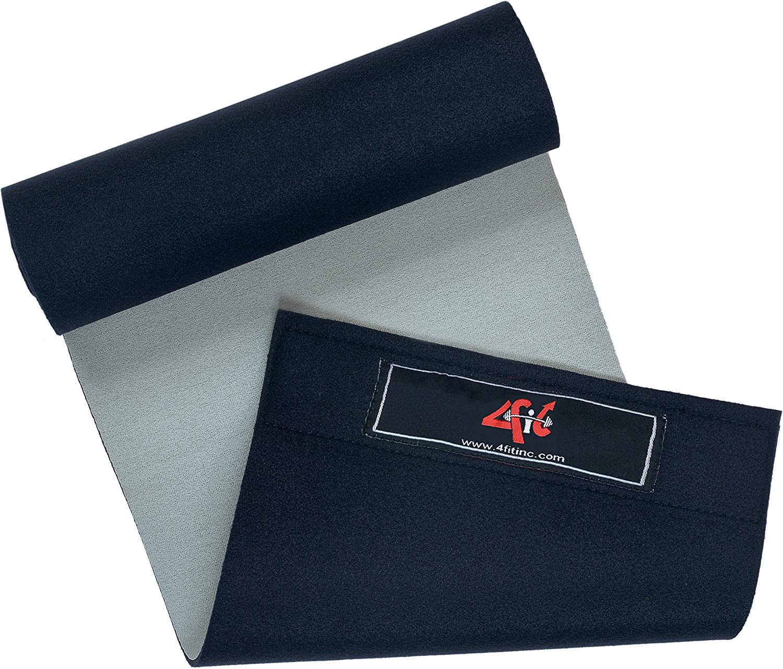 4Fit Adjustable Waist Trimmer Belt Compression Support Lower Back Sauna Belt