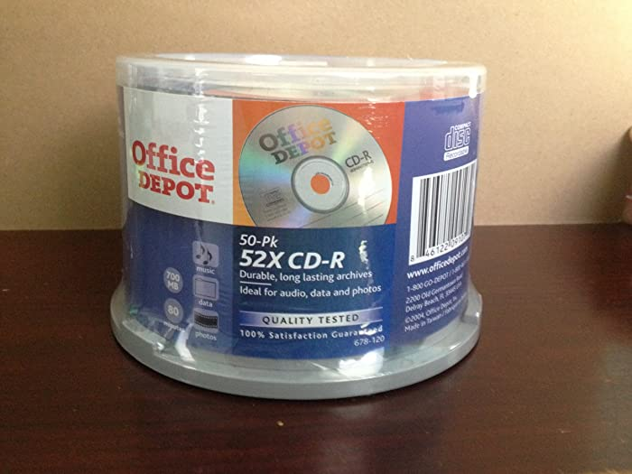 Top 7 Office Depot Cdr