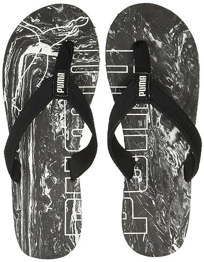 e9f2445b99c4fd Puma Men s Epic Flip V2 Marble Idp Black Hawaii Thong Sandals - 6 UK India