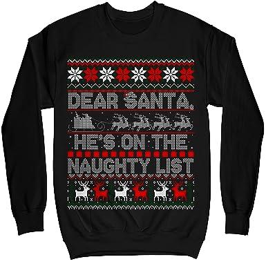 tee Dear Santa Daddy Unisex Sweatshirt