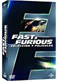 Pack Fast & Furious:  Colección 1 - 7 [DVD]