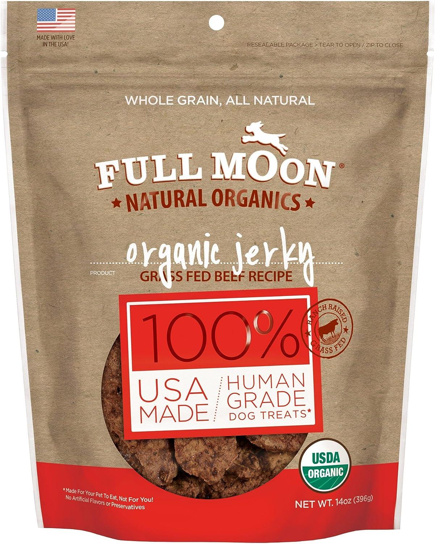 Full Moon Natural Organics Human Grade Dog Treats