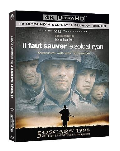 Il faut sauver le soldat Ryan [4K Ultra HD   Blu-ray   Blu-ray bonus - �dition 20ème anniversaire]