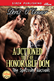 Auctioned to the Honorable Dom [The Spectrum Auctions 1] (Siren Publishing Allure)
