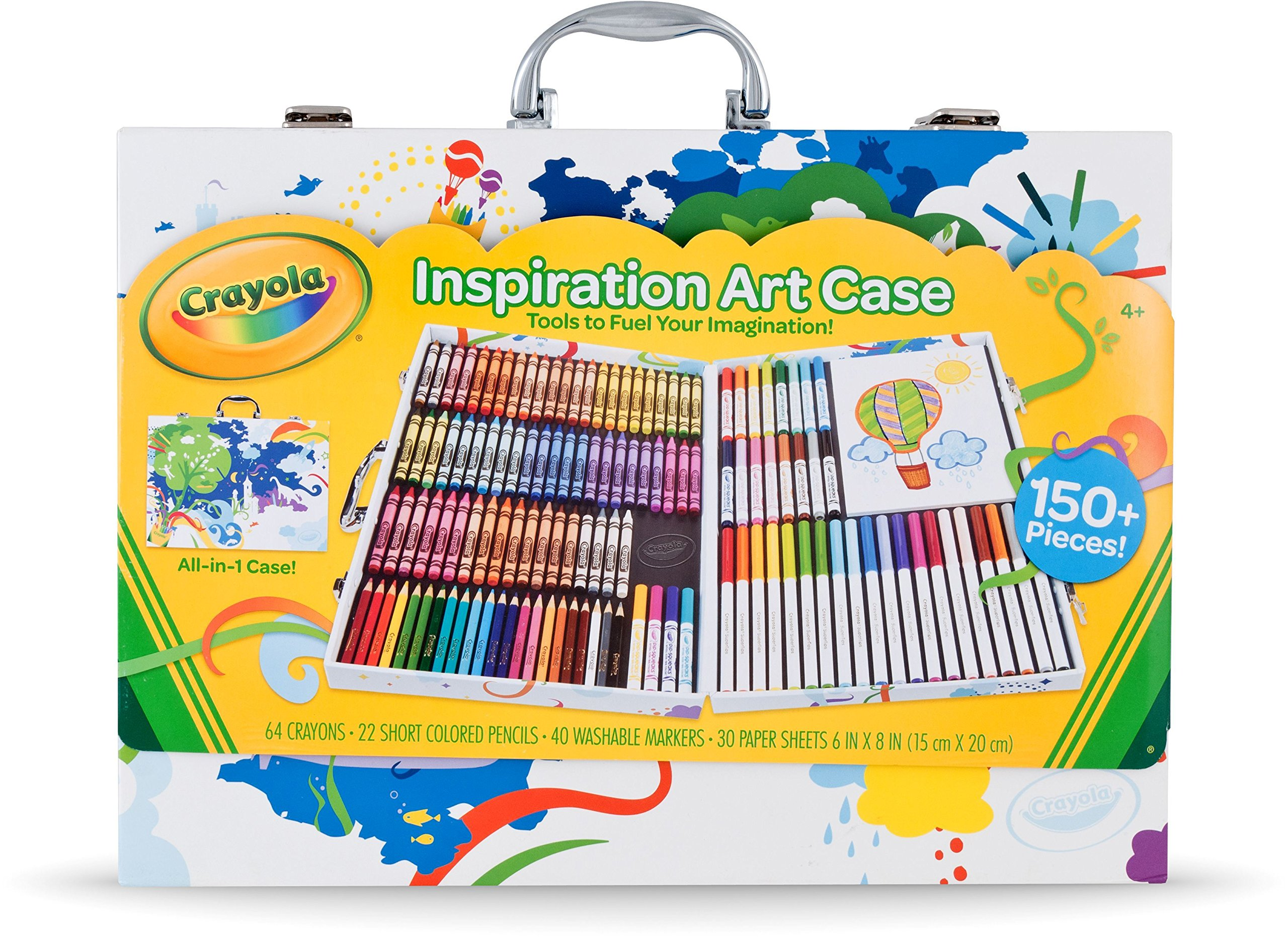 Other kids 39 arts crafts crayola inspiration art case for Arts and crafts sets for toddlers