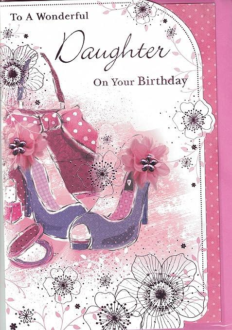 Figlia Di Auguri Di Compleanno Per Un Meraviglioso Figlia Al Tuo