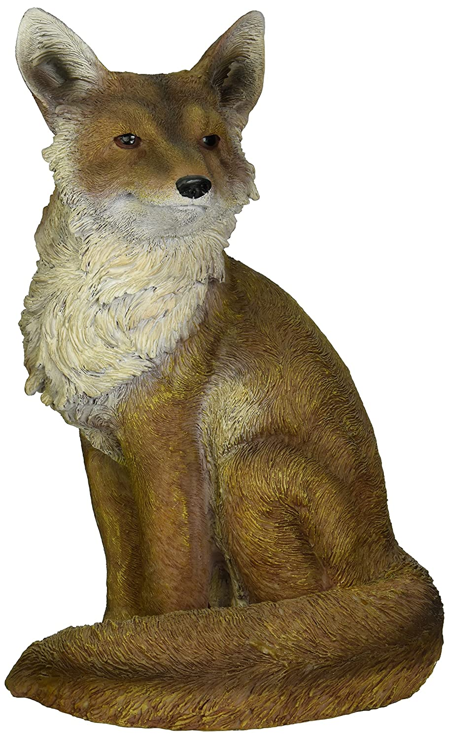 Design Toscano Fabian, the Flamboyant Fox Garden Statue