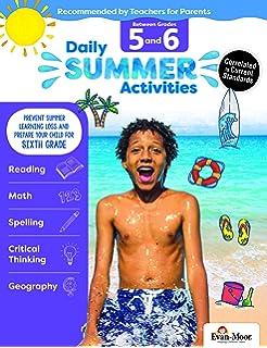 Summer Bridge Activities - Grades 5 - 6, Workbook for Summer