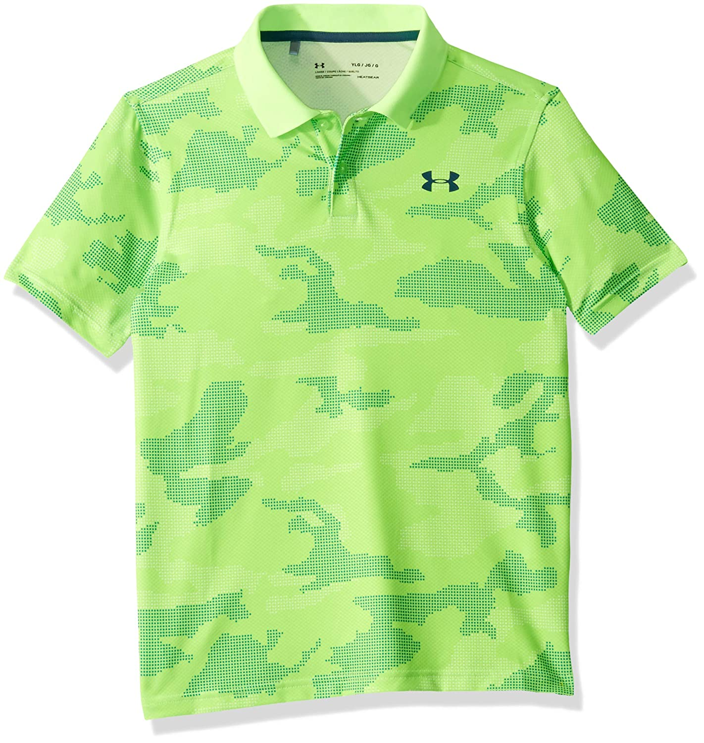 Polo Bambino Under Armour Performance 2.0 Novelty