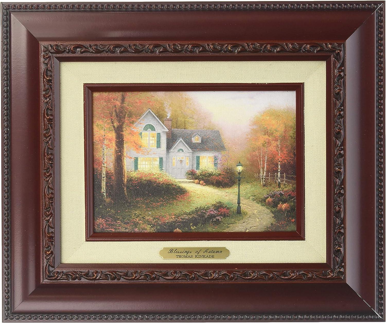 Thomas Kinkade The Blessing Autumn Brushwork (Brandy Frame)