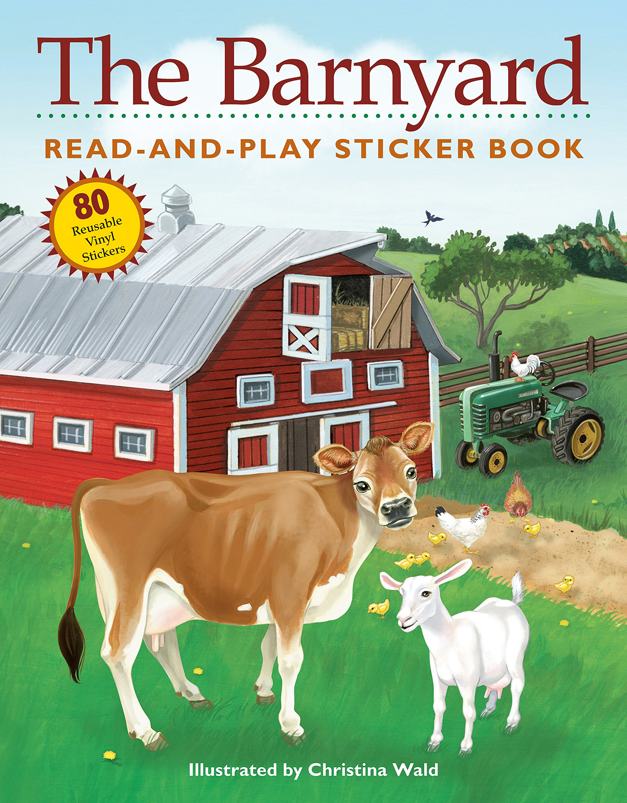 Barnyard Read Play Sticker Book product image