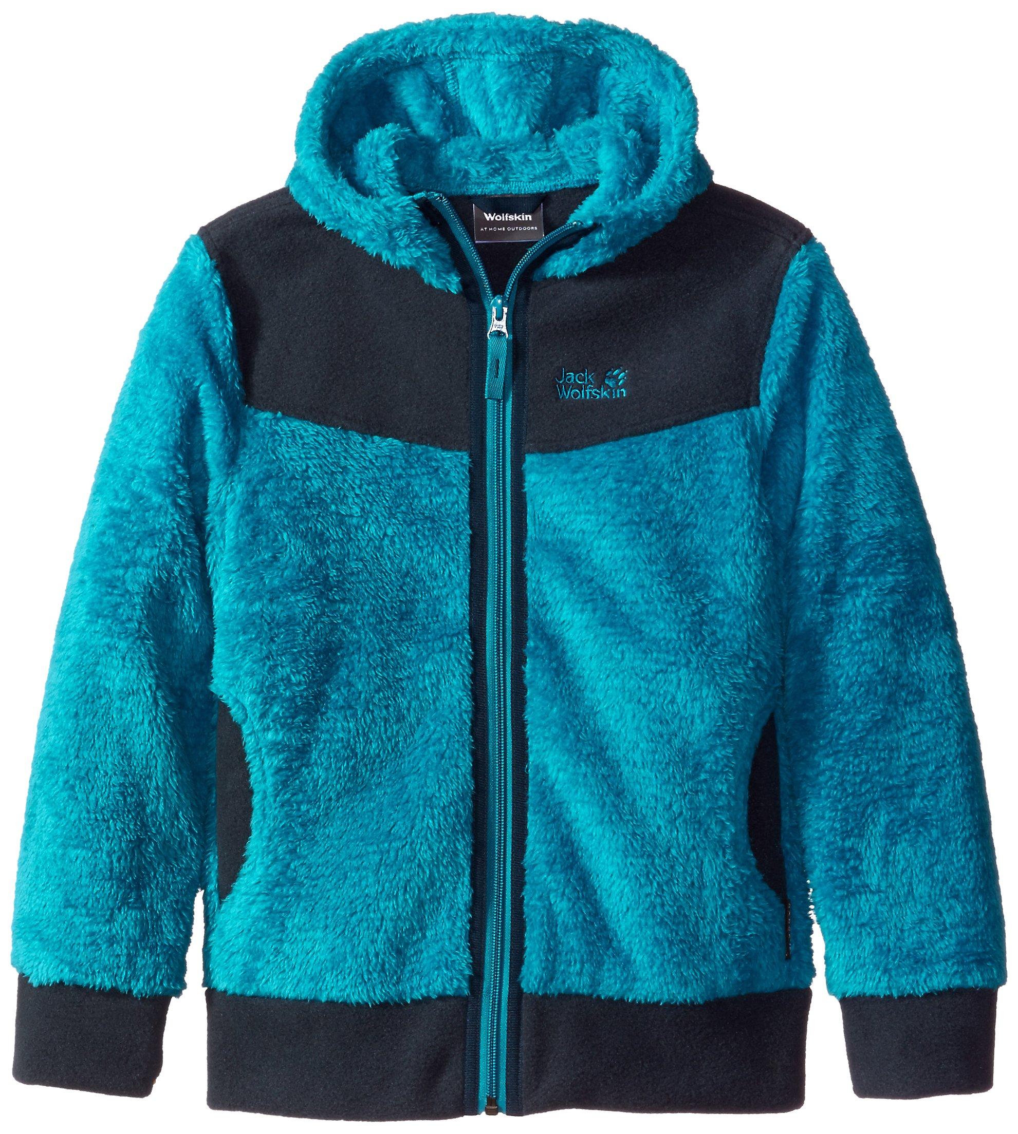 Jack Wolfskin Girls Polar Bear Nanuk Jacket, 164 (13-14 Years Old), Dark Turquoise