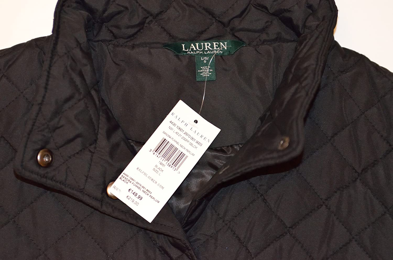7b27d7493a4fe4 Ralph Lauren - Blouson - Veste damassée - Femme Noir Schwarz - Noir -  Large  Amazon.fr  Vêtements et accessoires