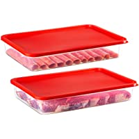 2 Pack – Zilpoo Plastic Bacon Keeper, Deli Meat Saver Cold Cuts Cheese Food Storage Container with Lid for Refrigerator…