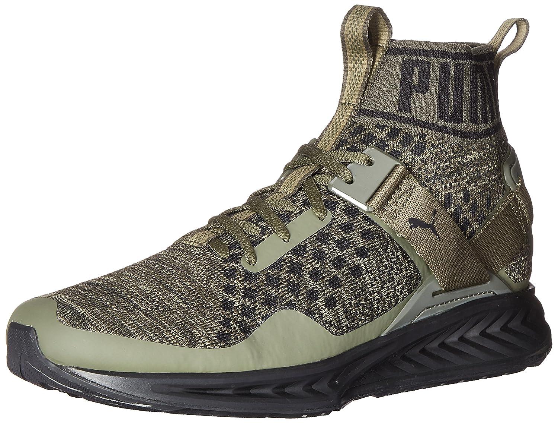 PUMA Men's Ignite Evoknit Cross-Trainer Shoe B01LW1V6TO 7.5 M US|Burnt Olive/Forest Night/Puma Black