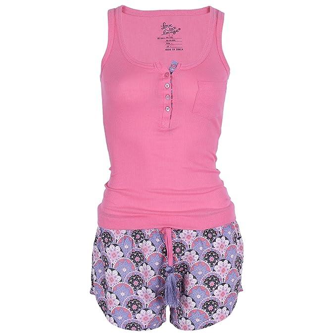 Love to Lounge - Pijama - para mujer rosa Rosa