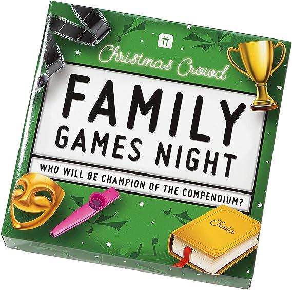 Talking Tables Juego de Mesa Fiestas de Navidad ENT-FAMILYGAME, Color: Amazon.es: Juguetes y juegos