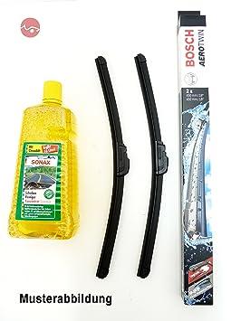 Bosch para limpiaparabrisas Aerotwin 3 397 118 994 & Sonax limpiacristales concentrado ...