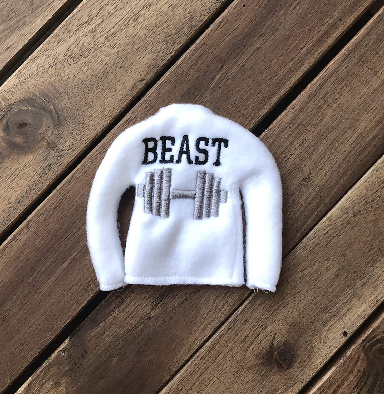 Beast mode Elf doll clothing