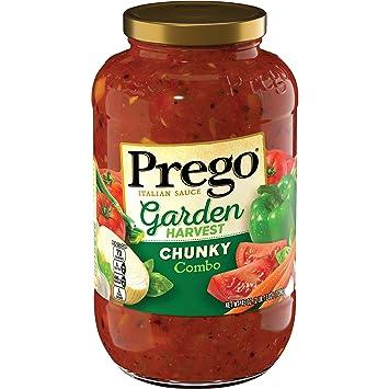 Prego Garden Harvest Chunky Combo Italian Sauce, 45 oz.