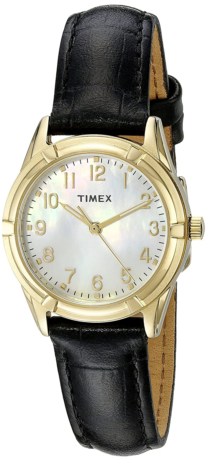edb449affecd Amazon.com  Timex Women s TW2P762009J City Collection Watch with Black  Band  Timex  Watches