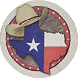 Thirstystone Stoneware Texas Coaster, Multicolor