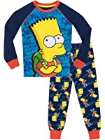 The Simpsons Boys Bart Simpson Pajamas
