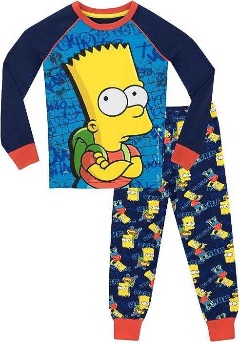 The Simpsons Boys Bart Simpson Pajamas
