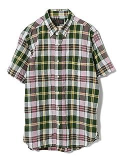 Short Sleeve Madras Buttondown Shirt 11-01-0736-139