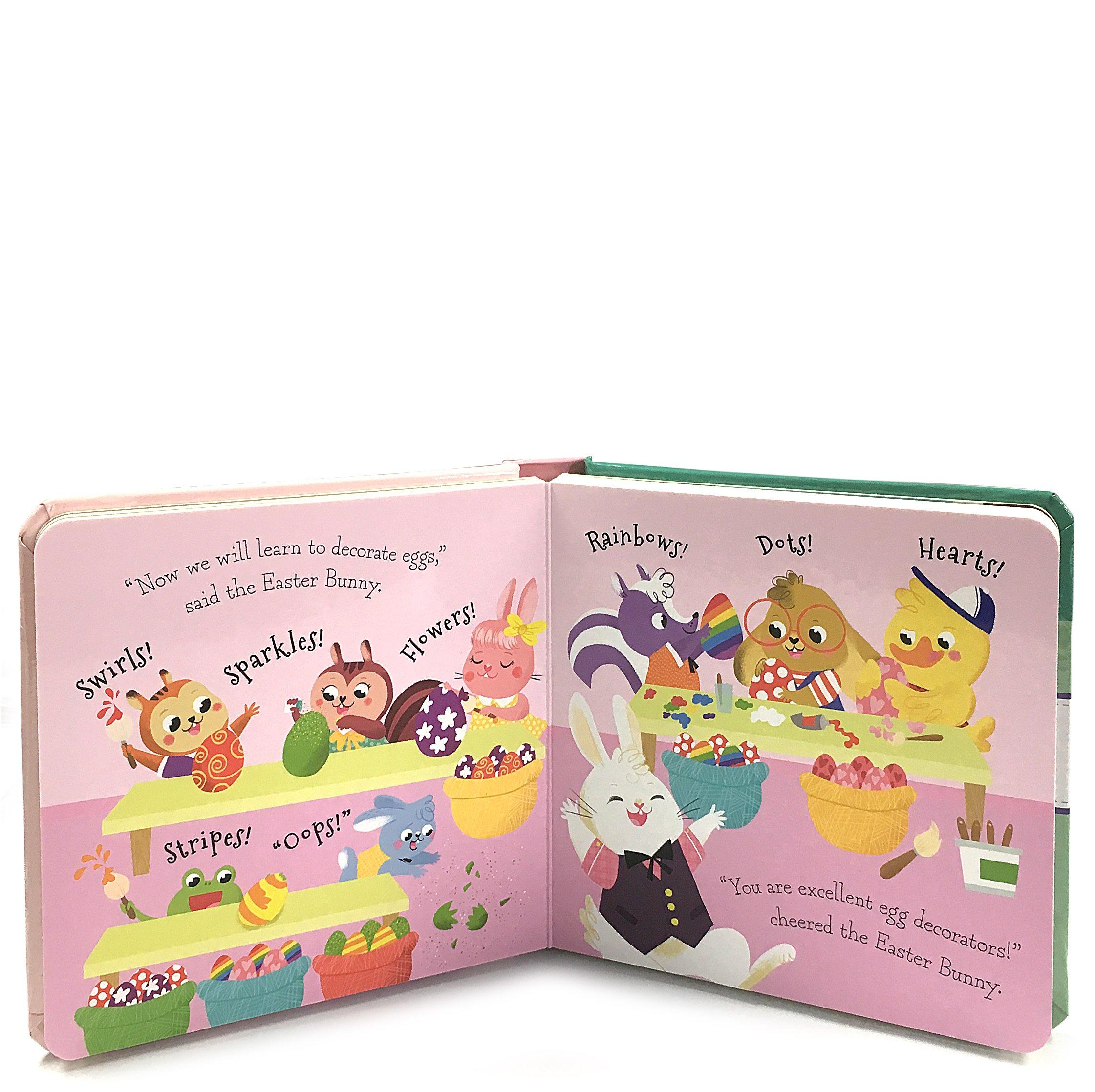 Easter Bunny School Padded Board Book (Little Bird Stories)